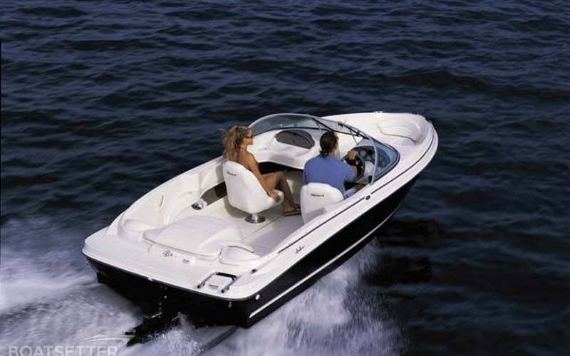 San Mateo Boat Rental - Sea Ray 175 Sport