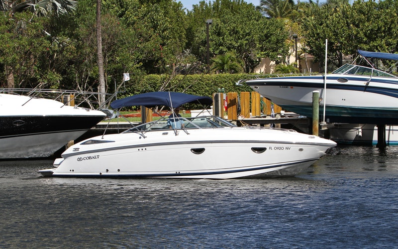 Delray Beach Boat Rental - 30 COBALT (Small Change)