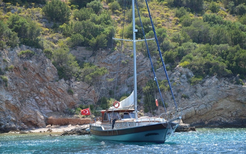 Bodrum Boat Rental - Custom Ketch-Gulet