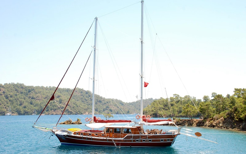 Bodrum Boat Rental - Custom Holland Ketch