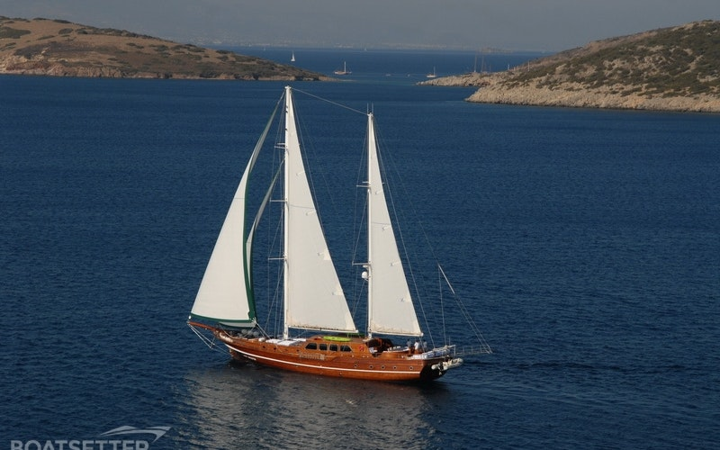 Bodrum Boat Rental - Custom Ketch Gulet