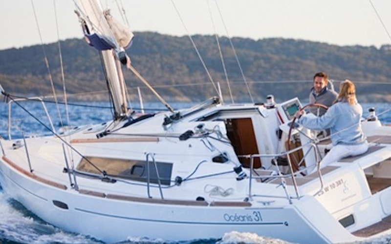 Split Boat Rental - Oceanis 393