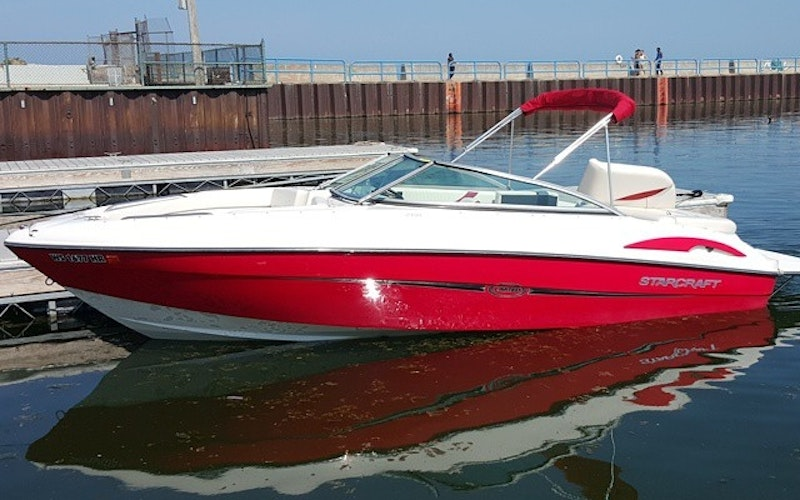 Milwaukee Boat Rental - Starcraft 2100 Limited