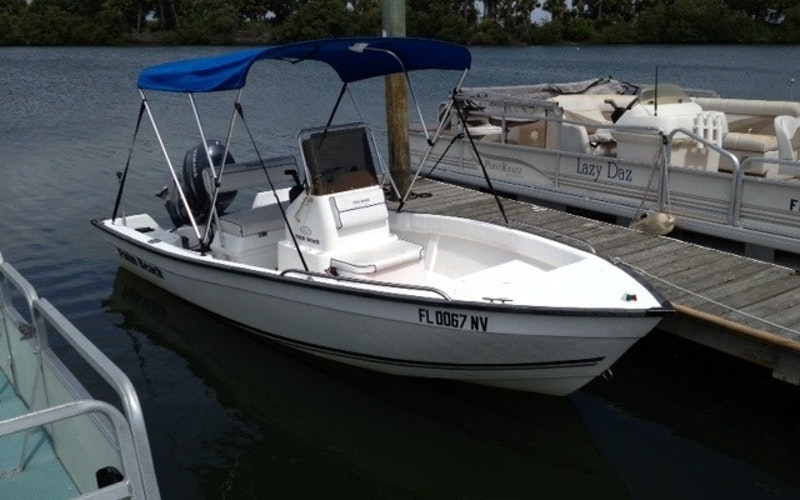 New Smyrna Beach Boat Rental - Palm Beach Center Console
