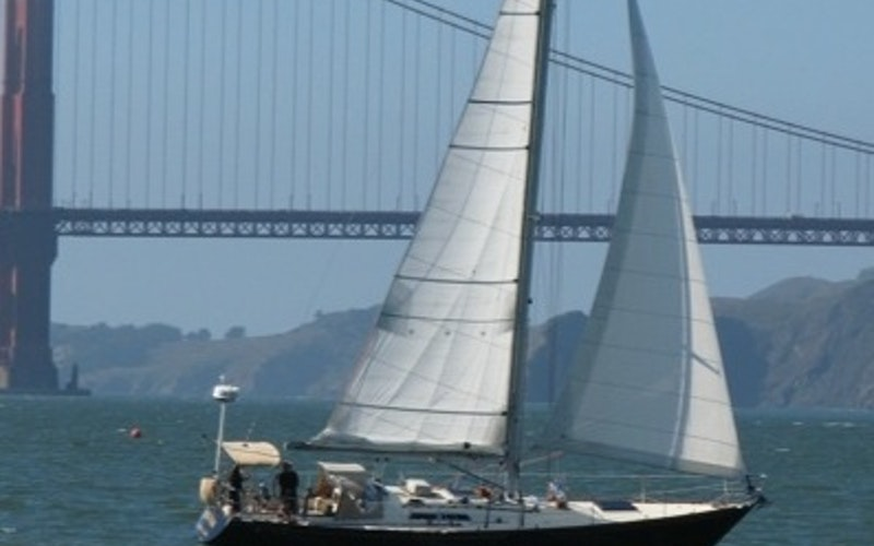 Sausalito Boat Rental - C and C Custom built Sloop