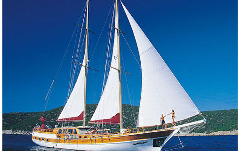 Bodrum Boat Rental - Custom Schooner Luxury Grandi