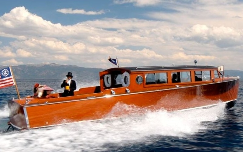 Tahoe Vista Boat Rental - Grand-craft 36 Commuter