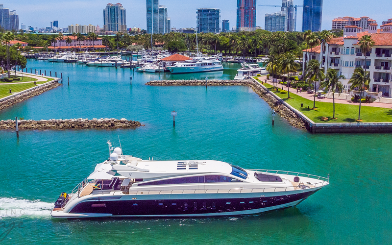 Miami Beach Yacht Charter - Friday