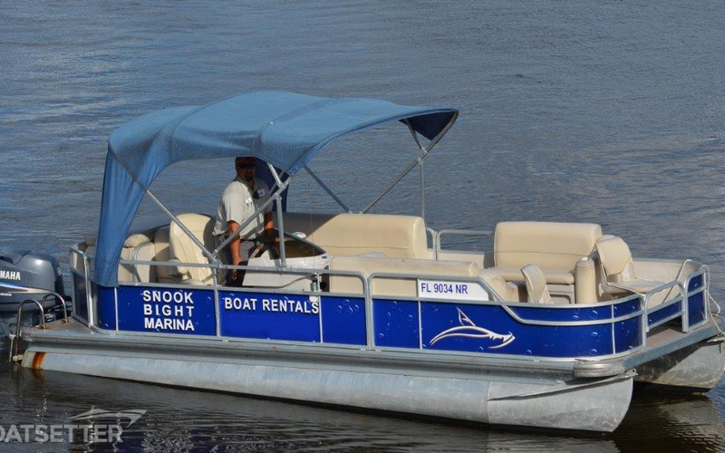 Fort Myers Beach Boat Rental - 22ft Leisure Pontoon