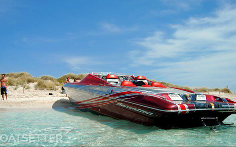 Ibiza Boat Rental - Sunsation