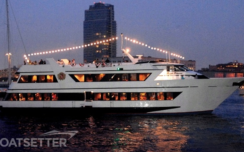 Weehawken Boat Rental - Royal Princess