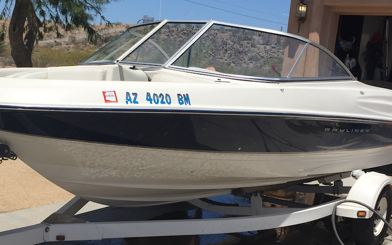 Peoria Boat Rental - Ski Boat. 303 and Happy Valley. Prime location 4 Lake Pleasant