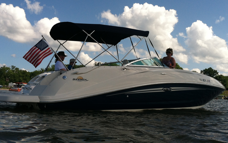 Stafford Boat Rental - Searay Sundeck 260