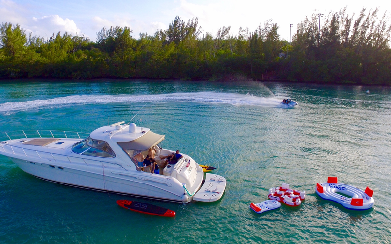 Miami Boat Rental - Yacht Party Rental in Miami - 55' Sea Ray