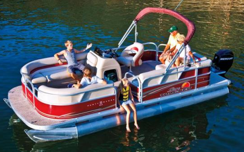 Richland Boat Rental - 2013 Party Barge w/ 60 Hp Motor
