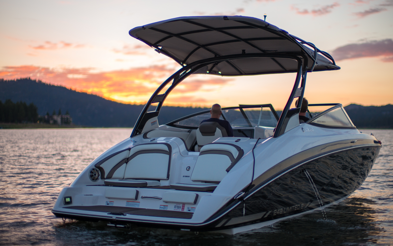 Big Bear Lake Boat Rental - Sun Star 1
