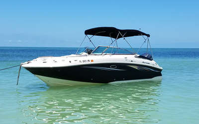 boat rental (Clearwater)